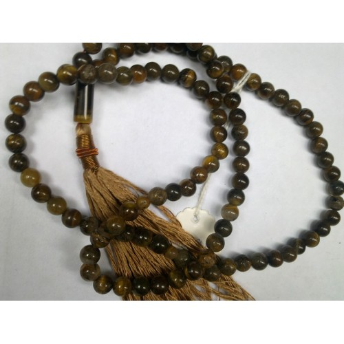 Tiger's Eye Tasbih