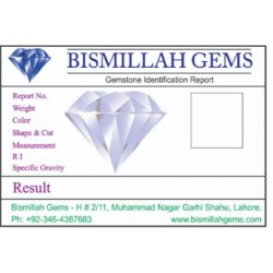 Gemstone Testing and Certification